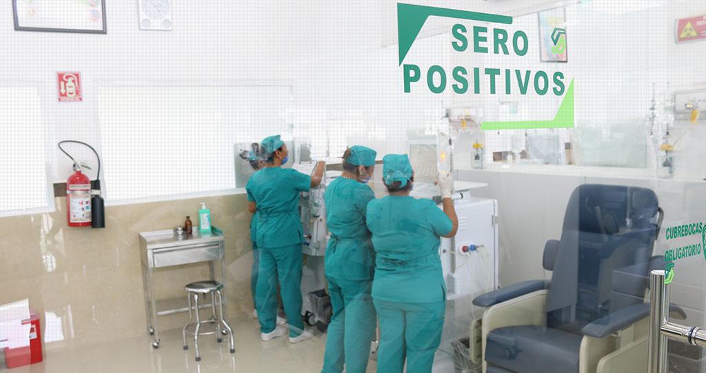 Zona para Pacientes Aislados